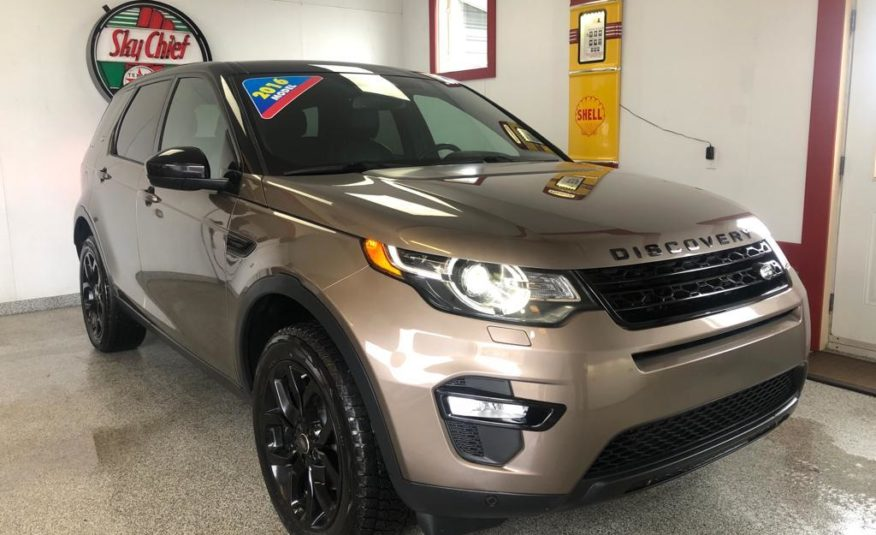 2016 LANDROVER DISCOVERY HSE LUXURY